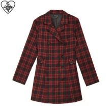 LONELY CLUB Lonely Check Jacket Dress 1ea,Beauty Box Korea