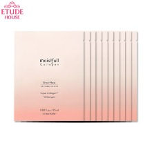 ETUDE HOUSE Moistfull Collagen Sheet Mask 25ml*10ea