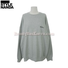 STYLENANDA Drop Shoulder Sweatshirt 1ea,Beauty Box Korea