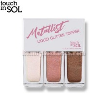TOUCH IN SOL Metallist Liquid Glitter Topper 3.3ml*3ea