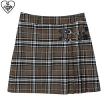 LONELY CLUB Lonely Unbal Check Skirt 1ea,Beauty Box Korea