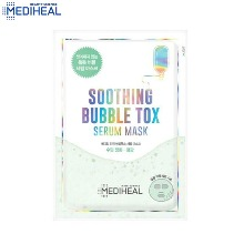MEDIHEAL Soothing Bubble Tox Serum Mask 25ml