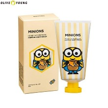 OLIVE YOUNG MINIONS Honey With Banana Wrapping Hand Cream 45ml
