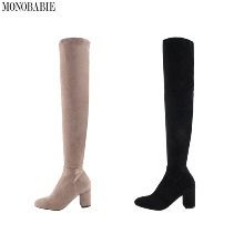 MONOBARBIE Eithi Boots 7cm 1pair,Beauty Box Korea