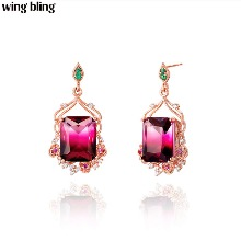 WING BLING Rose Valley Earring 1pair