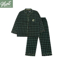 HUNT INNERWEAR BT21 Flannel Check Pajama 1ea
