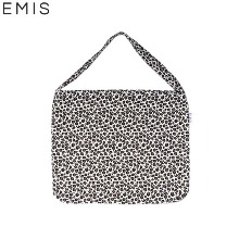 EMIS White Leopard Eco Bag (Corduroy) 1ea,Beauty Box Korea