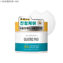 HANURSINBIHAN Quatro Pad Soothing Solution 70ea 195ml