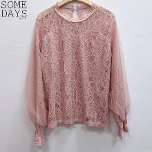 SOMEDAYS Snow Flower Lace Blouse 1ea,Beauty Box Korea