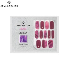 JELLATELIER Shining Gel Nail Sticker 1ea [Artist Collaboration]