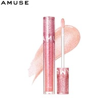 AMUSE Pink Snowball Lip Glass #01 Snowball 3g [Pink Snowball Collection]