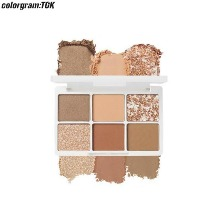 COLORGRAM:TOK Hit Pan Eye Palette 6.6~10g,Own label brand