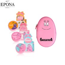 EPONA Barbapapa Lip Balm + Pouch Set 4items