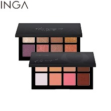 INGA Pro Artist Eye Palette 1.6g*8colors
