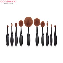 CORINGCO Full Face Artist Brush Set 10items