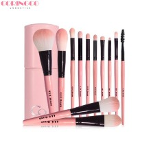 CORINGCO Cotton Candy Make-Up Brush 12p Set 13items