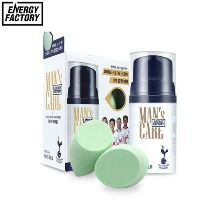 ENERGY FACTORY Skin Fit Man's Balm (For Dark Skin) With Tottenham Puff Special Set 3items [ENERGY FACTORY X TOTTENHAM HOTSPUR]