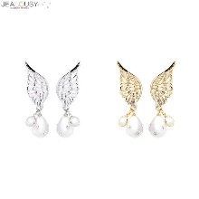 JEALOUSY Forever Angel Earrings 1pair,Beauty Box Korea