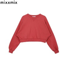 MIXXMIX Essay Basic Cropped Sweatshirt 1ea,Beauty Box Korea