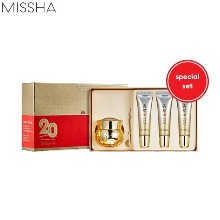 MISSHA Misa Geum Sul Vitalizing Eye Cream Special Set 4items [20th Anniversary Timeless 20 Years Limited Edition]
