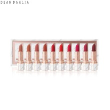DEAR DAHLIA Lip Paradise Effortless Matte Lipstick Collection Set 10items