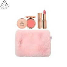3CE Pink Candyfloss Kit 3items [DUTY FREE Exclusive]