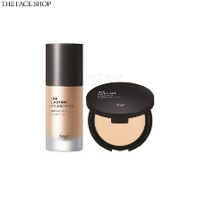 THE FACE SHOP Fmgt Ink Lasting Mini Powder Special Set 2items