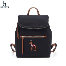 HAZZYS Navy Puppy Embroidered Backpack (WIBA8F063N2) 1ea,Beauty Box Korea