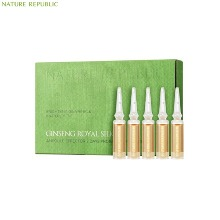NATURE REPUBLIC Ginseng Royal Silk Ampoule Effector 7 Days Program Special Set 7items