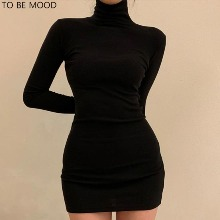 TO BE MOOD Thick Polo Neck One-Piece 1ea,Beauty Box Korea