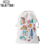 HELLO TALKTOK Enjoy Seoul String Pouch L 1ea