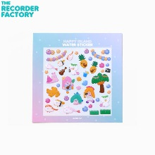 THE RECORDER FACTORY Happy Island Water Sticker 1ea
