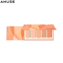 AMUSE Cheek Bouquet Palette 4.8*5colors