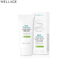 WELLAGE Real Hyaluronic Safe Sun Cream SPF50+ PA ++++ 50ml