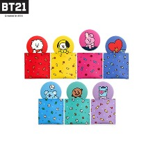 BT21 Pouch Mirror Ver.2 Set 2items [BT21 x MONOPOLY]