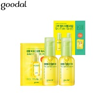 GOODAL Green Tangerine Vita C Dark Spot Serum Plus Double Edition Special Set 5items