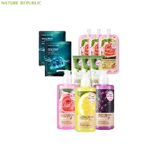 NATURE REPUBLIC Hand & Nature Sanitizer Gel S 300ml Special set 9items,Beauty Box Korea