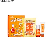 THE FACE SHOP Dr.Belmeur Vita Serine Tone Smoothing Serum Vitamin Edition Set 10items