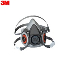 3M Reusable Half Face Mask 6200 (Medium) 1ea