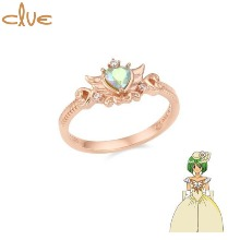 CLUE Angel of Love Wedding Daisy Silver Ring (CLRR20W003PM) 1ea [CLUE X Wedding Peach 2nd collaboration]