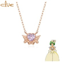 CLUE Saint Something Four Something Burrow Gold Necklace (CLN20302T) 1ea [CLUE X Wedding Peach 2nd collaboration]