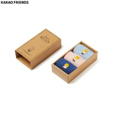 KAKAO FRIENDS Ryan Mens Socks Set (Embroidery) 3items