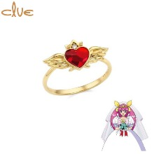 CLUE Saint Something Four Something Old Silver Ring (CLRR20W006YR) 1ea [CLUE X Wedding Peach 2nd collaboration]