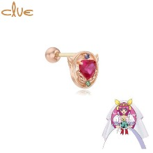 CLUE Angel's Mirror 10K Gold Piercing (CLE20307T) 1pc [CLUE X Wedding Peach 2nd collaboration]