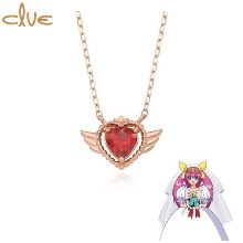 CLUE Wedding Peach Something Old Gold Necklace (CLN20371T) 1ea [CLUE X Wedding Peach 2nd collaboration]