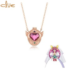 CLUE Light of Love Angel's Mirror Gold Necklace (CLN20301T) 1ea [CLUE X Wedding Peach 2nd collaboration]