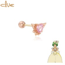 CLUE Daisy Something Burrow 10K Gold Piercing (CLE20304T) 1pc [CLUE X Wedding Peach 2nd collaboration]