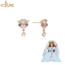 CLUE Wedding Lily Gold Earrings (CLE20316T) 1pair [CLUE X Wedding Peach 2nd collaboration]