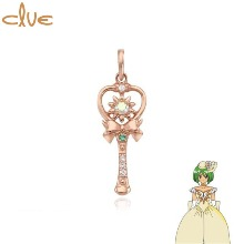 CLUE Daisy Angel Flower Gold Pendant (CLP20304T) 1ea [CLUE X Wedding Peach 2nd collaboration]