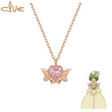 CLUE Saint Something Burrow Gold Necklace (CLN20303T) 1ea [CLUE X Wedding Peach 2nd collaboration]